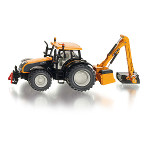 valtra tractor with hedge cutter