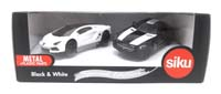 special edition - black and white luxury sports cars