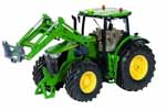 john deere 7310r with frontloader bluetooth rc - 1:32 scale